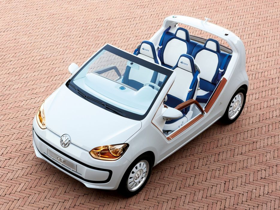 Volkswagen Up Azzurra Sailing Team Concept 2011 wallpaper