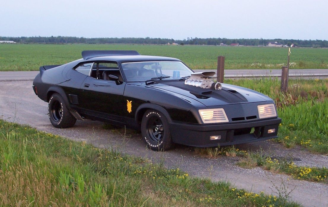 1973 Ford Falcon Coupe XB-GT Mad Max movies cars wallpaper