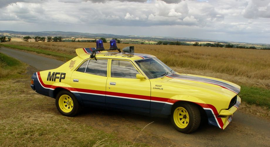 1973 Ford Falcon Coupe interceptor Mad Max movies cars wallpaper