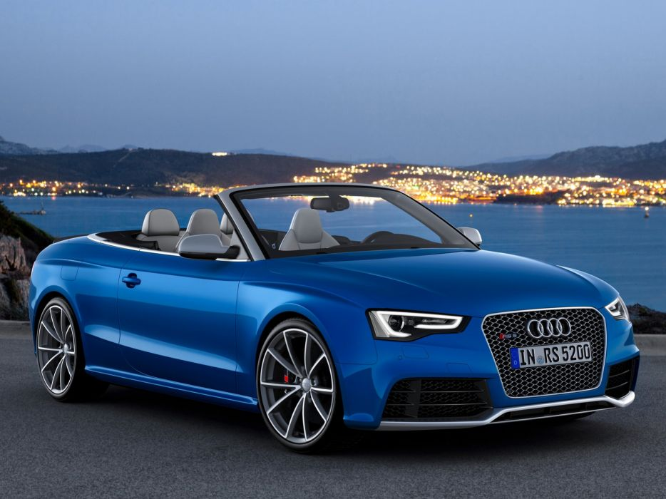 Audi RS5 Cabriolet 2012 wallpaper