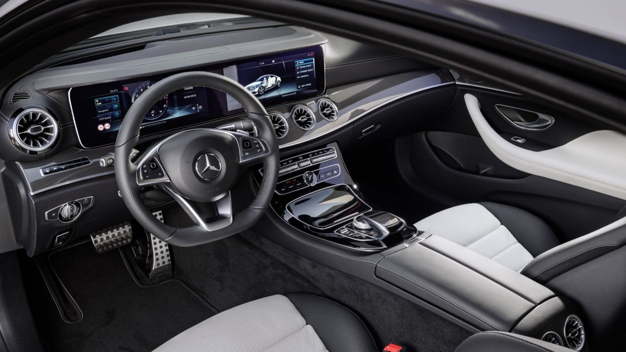 Mercedes-Benz E-Class Coupe 2018 wallpaper