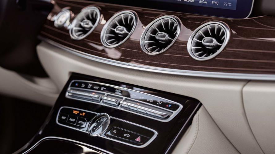 Mercedes-Benz E-Class Coupe 2018 wallpaper