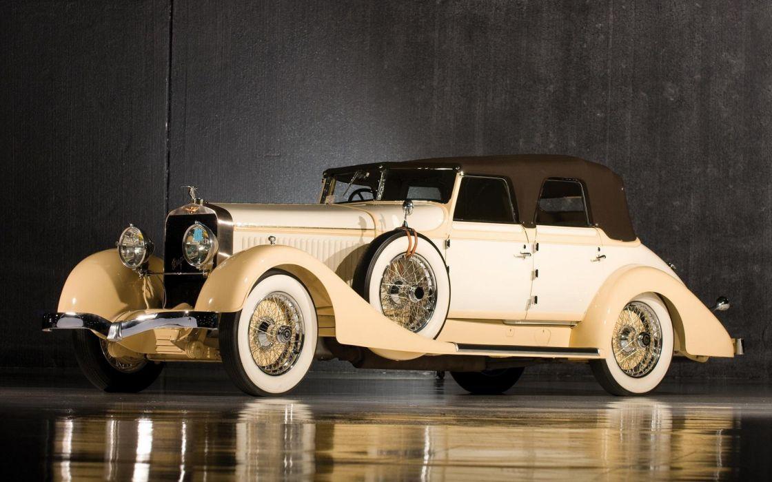 hispano suiza h6 coche antiguo wallpaper