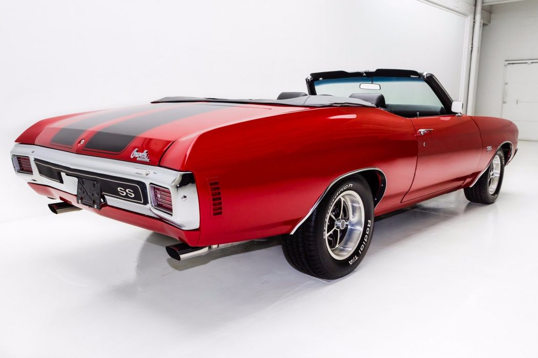 1970 chevrolet chevelle 396 cars convertible red wallpaper