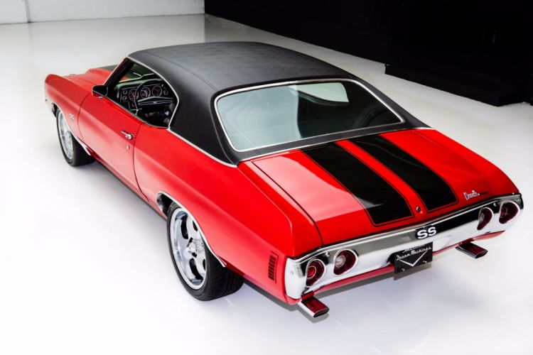 1971 chevrolet chevelle (ss) 454 cars red wallpaper