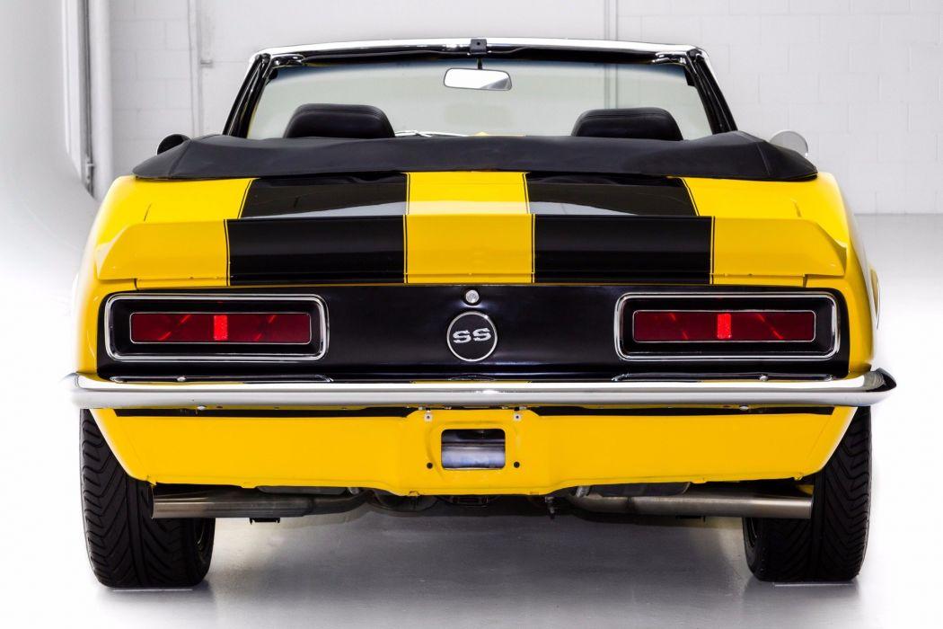 1967 chevrolet camaro rs-ss cars convertible yellow wallpaper
