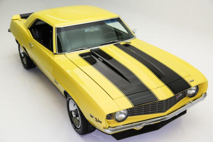 1969 chevrolet camaroz28 cars yellow wallpaper