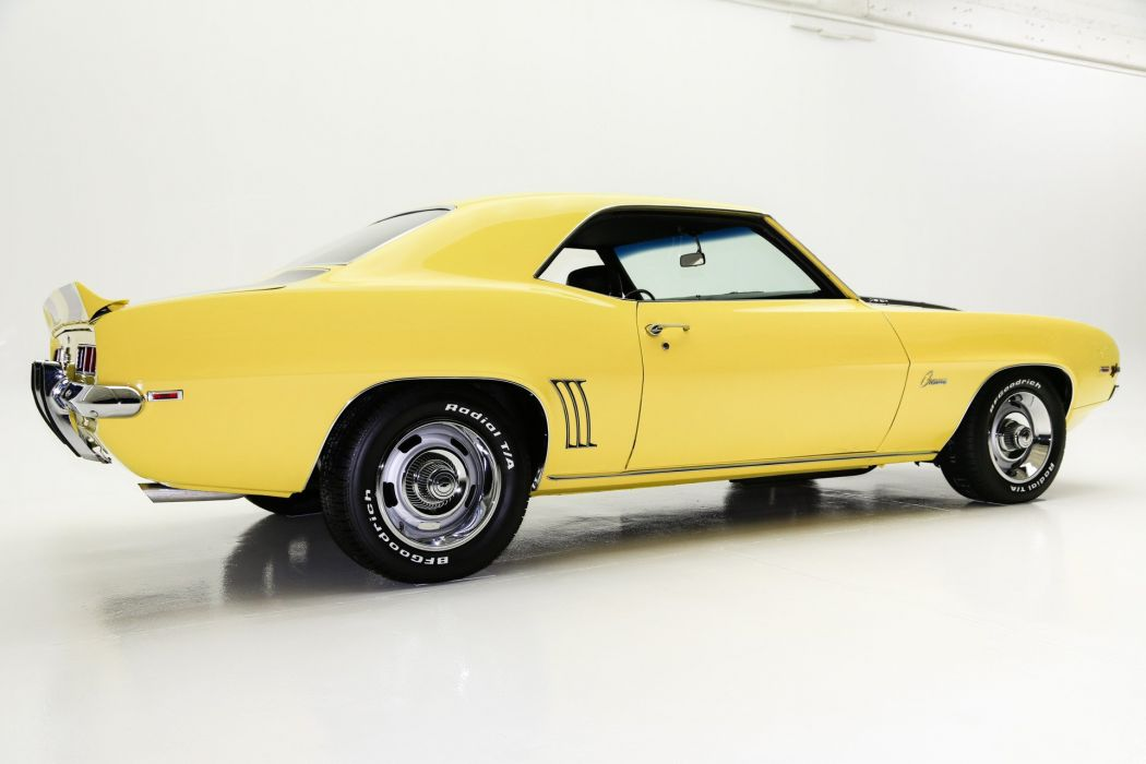 1969 chevrolet camaroz28 cars yellow wallpaper