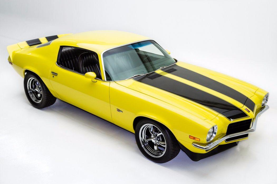 1972 chevrolet camaroz28 cars yellow wallpaper