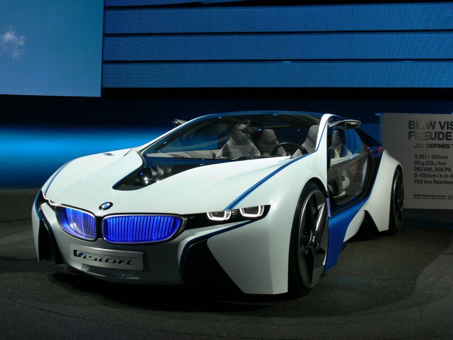 BMW Concepto Vision EfficientDynamics Front wallpaper
