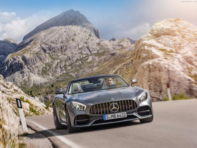 Mercedes-AMG GT C Roadster 2017 wallpaper