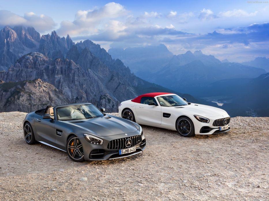 Mercedes-AMG GT Roadster 2017 wallpaper