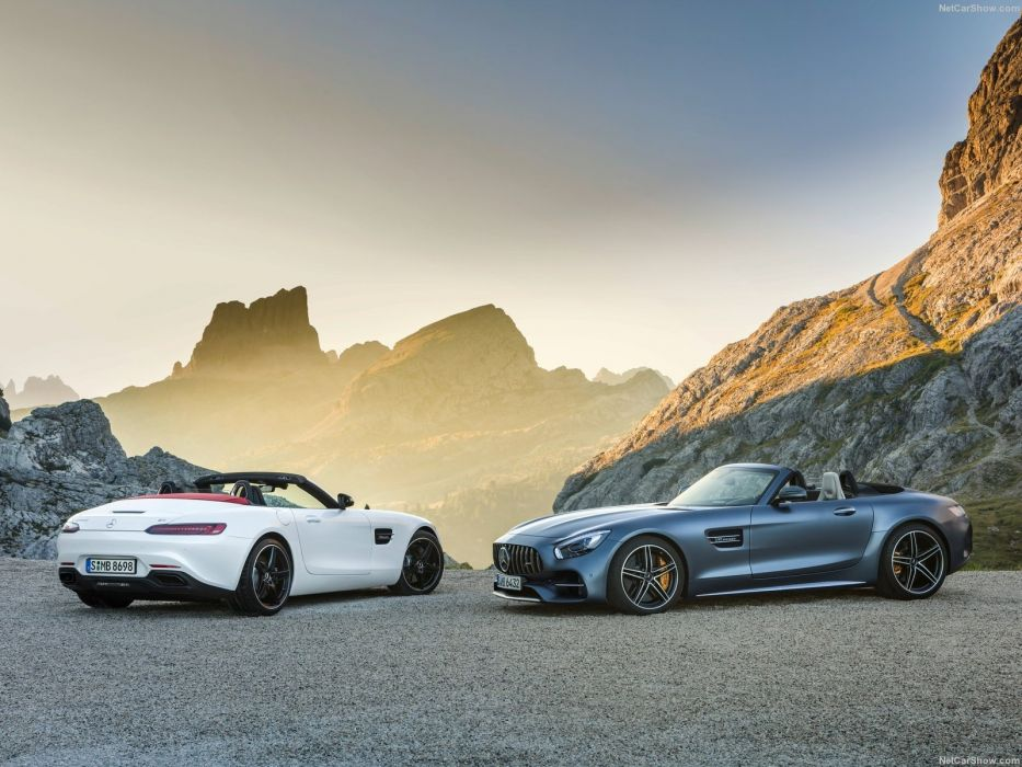 Mercedes-AMG GT Roadster 2017 wallpaper