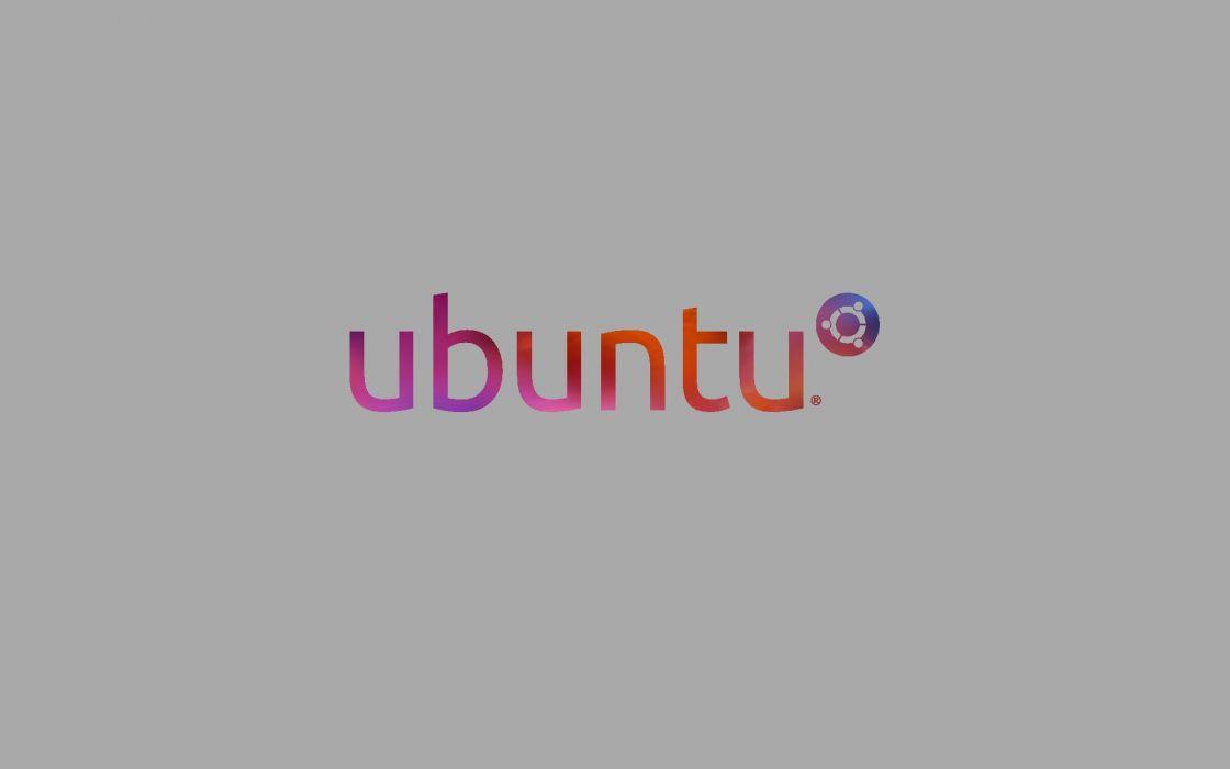 ubuntu distro gnu linux abstrate psychedelic minimal minimalist minimalism logo logotype wallpaper
