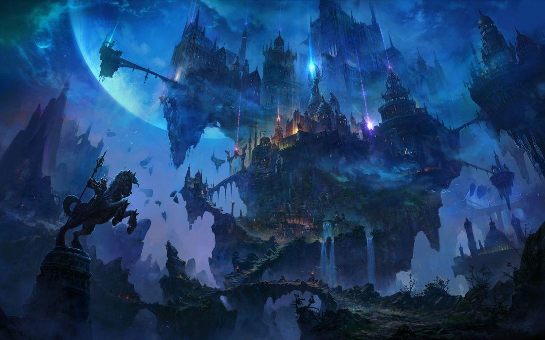 Li Shuxing cgartt original fantasy art beauty landscape wallpaper
