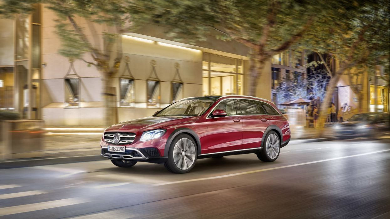 Mercedes-Benz E Class All Terrain 2017 SW wallpaper