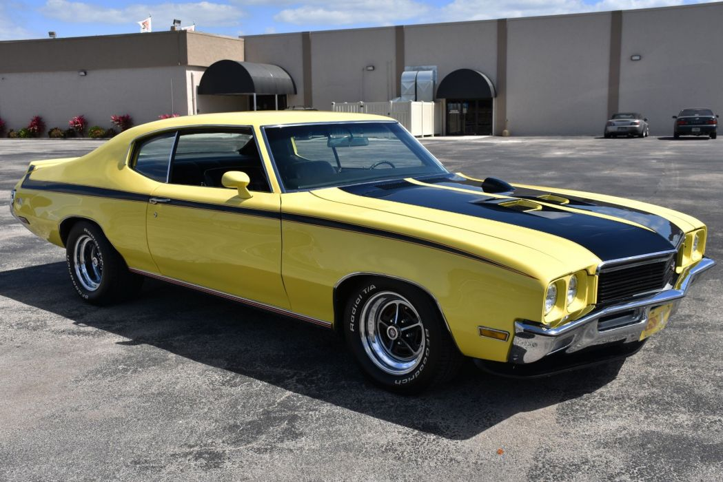 1972 BUICK GRAND SPORT STAGE-I GSX PACKAGE cars yellow wallpaper