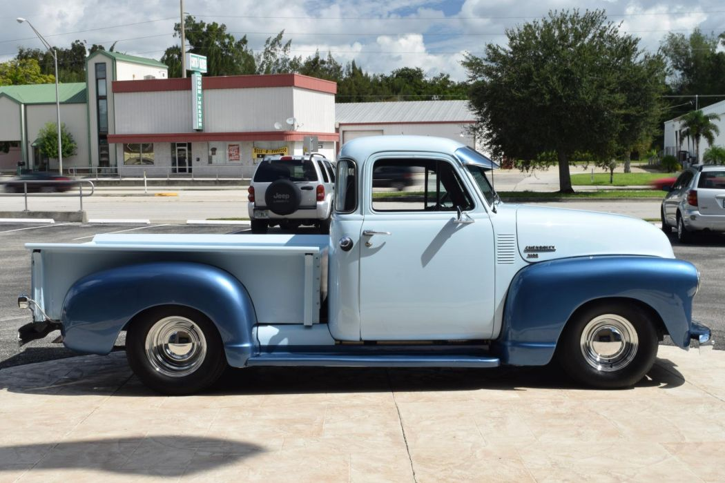 1949 CHEVROLET 3100 350 pickup truck wallpaper