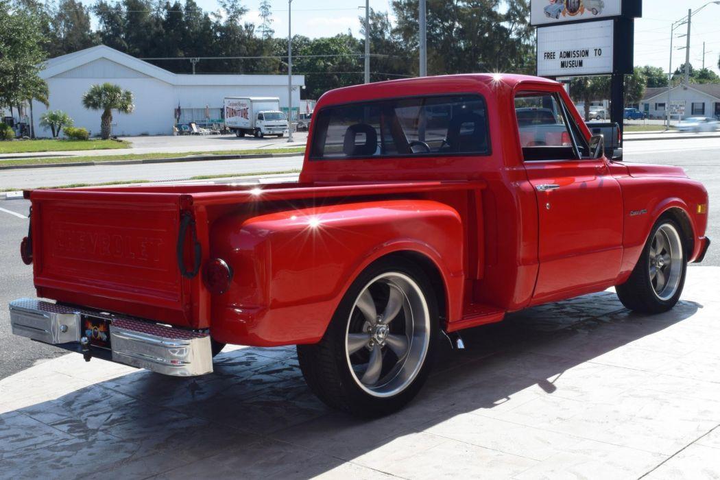 1970 CHEVROLET C10 350 pickup truck red wallpaper