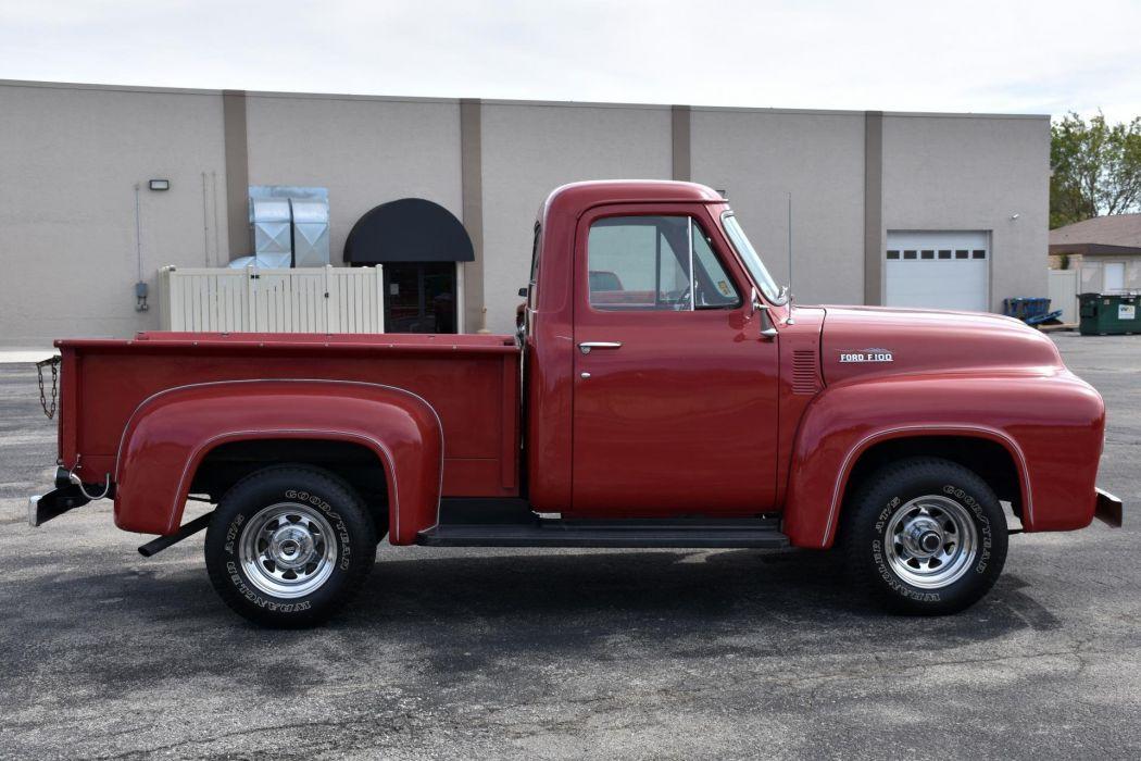 1953 FORD F100 BIG BLOCK pickup truck wallpaper