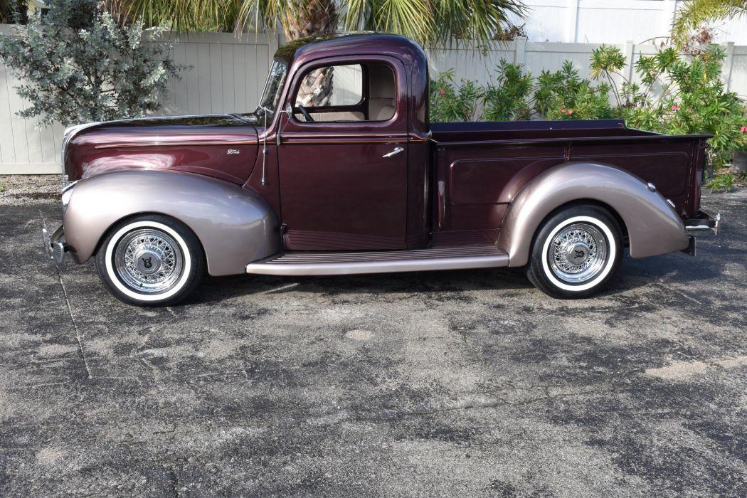 1940 FORD PICKUP REAL STEEL BODY 350 pickup truck wallpaper