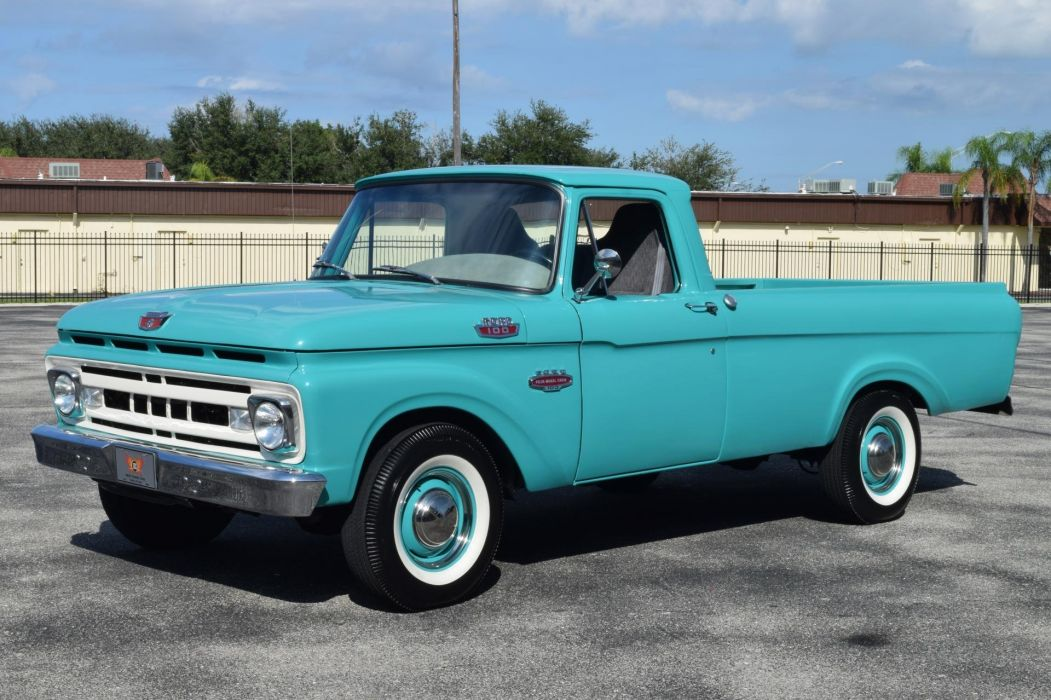 1961 FORD F100 pickup truck wallpaper