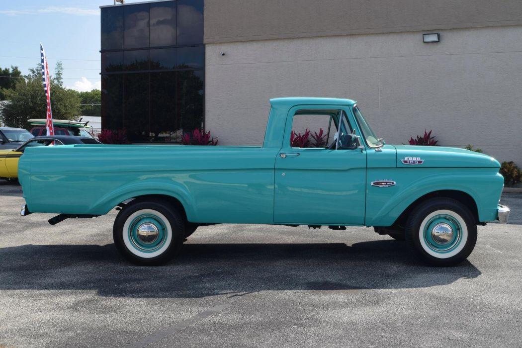 1961 FORD F100 pickup truck wallpaper