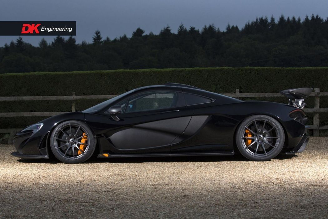McLaren (P1) cars supercars black 2016 wallpaper