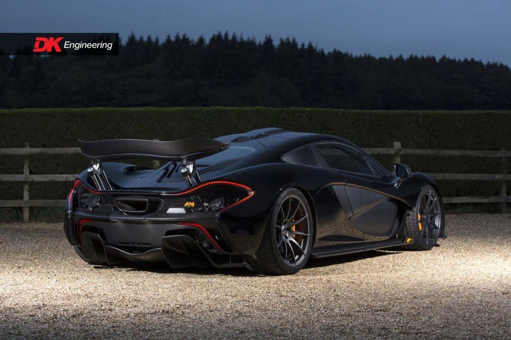McLaren (P1) cars supercars black 2016 wallpaper