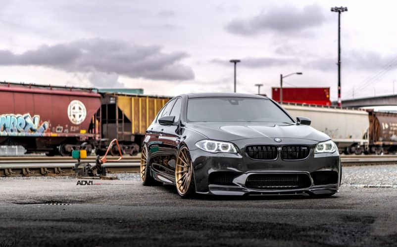 Black Sapphire Metallic BMW (M5) f10 cars black sedan wallpaper