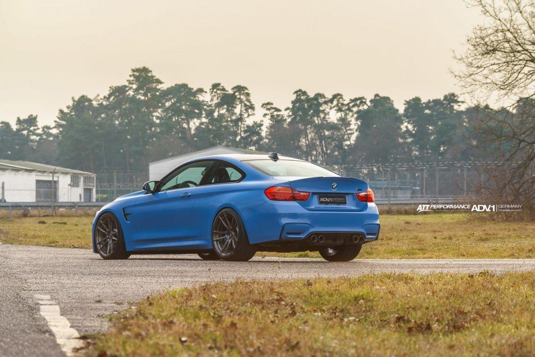 Yas Marina Blue Metallic BMW (M4) cars coupe wallpaper