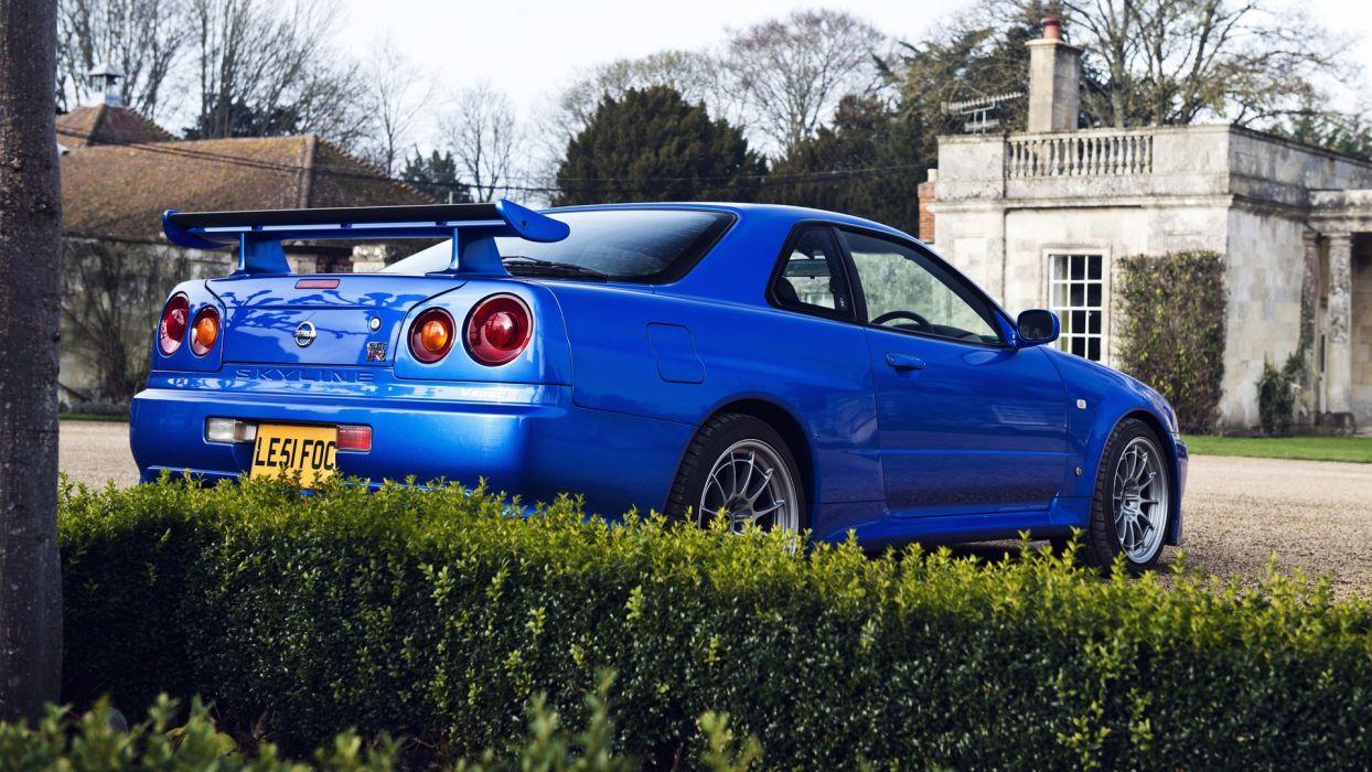 Nissan Skyline GT-R R34  wallpaper