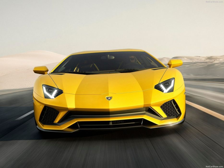 Lamborghini Aventador (S) cars supercars yellow  wallpaper