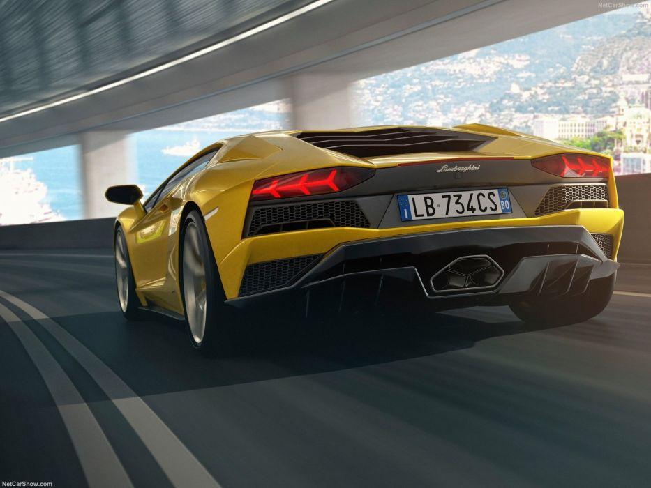 Lamborghini Aventador (S) cars supercars yellow  wallpaper