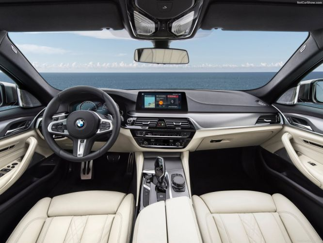 BMW M550i xDrive cars sedan 2017 wallpaper