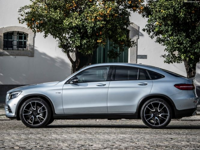 Mercedes Benz GLC43 AMG 4Matic cars suv 2016 Coupe wallpaper