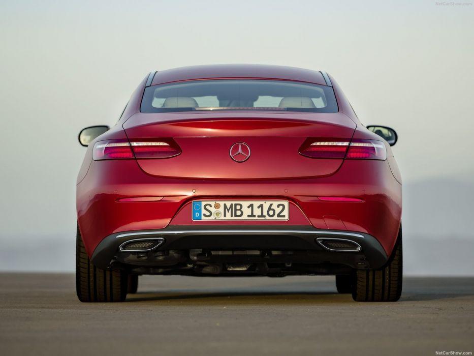Mercedes Benz E-Class Coupe cars 2016 wallpaper