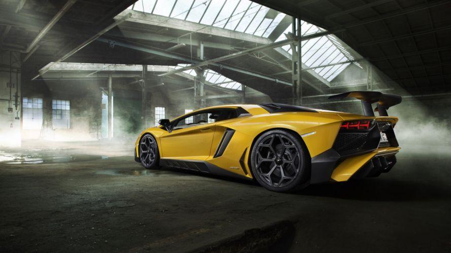 Lamborghini Aventador SV Super Veloce wallpaper