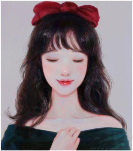 fantasy original beautiful haeunhea Ruoxin Zhang artstation illustration wallpaper
