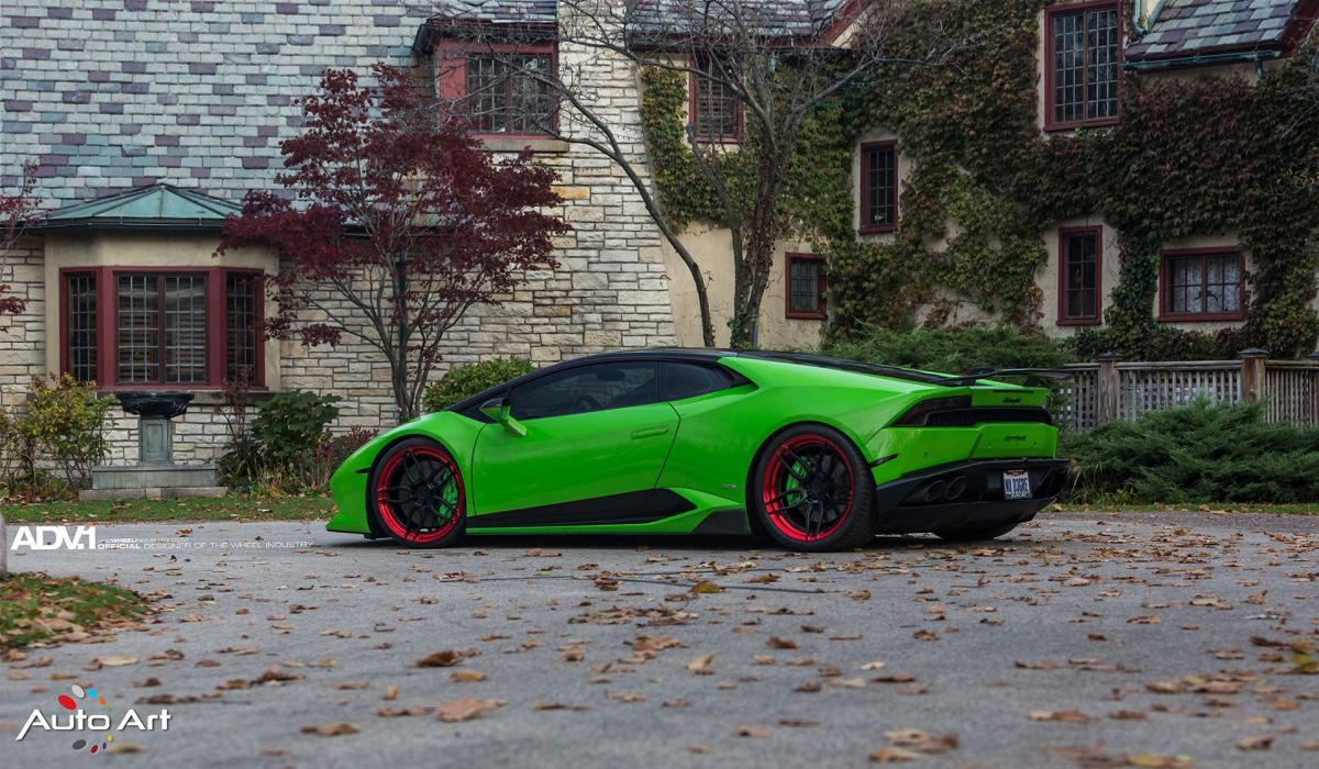 VERDE MANTIS LAMBORGHINI HURACaN cars supercars green wallpaper