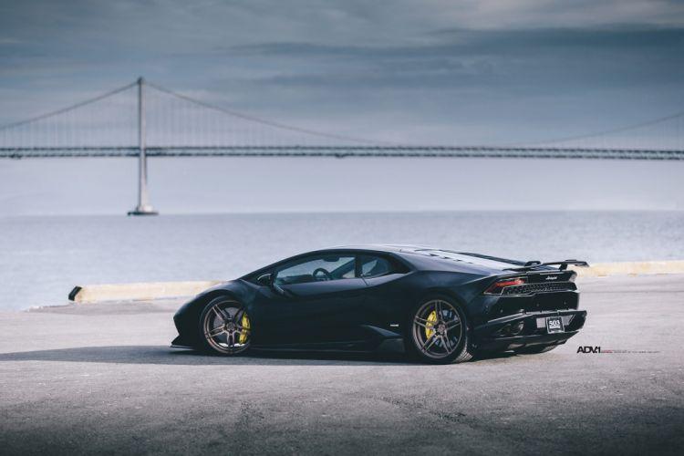 Nero Helene Lamborghini Huracan cars black adv1 wheels wallpaper