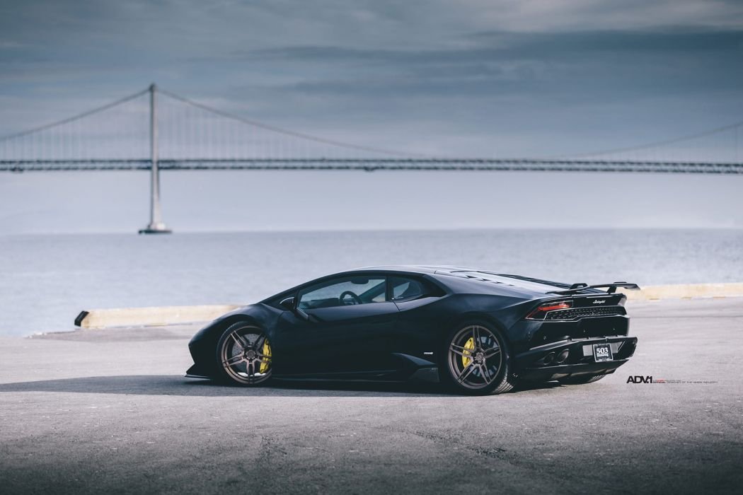 Nero Helene Lamborghini Huracan cars black adv1 wheels wallpaper