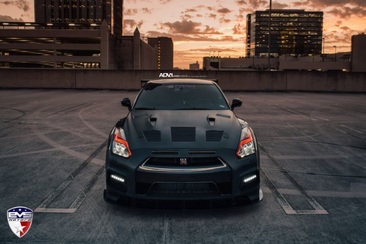 Prior Design Nissan GTR R35 cars adv1 wheels black wallpaper