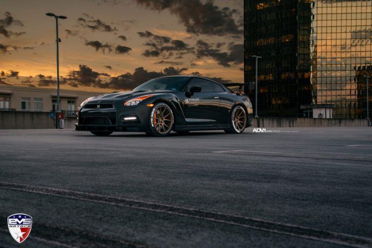Prior Design Nissan GTR R35 cars adv1 wheels black wallpaper