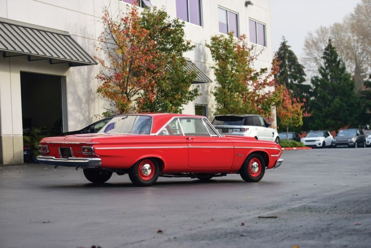 1964 Plymouth Belvedere Max Wedge Hardtop Coupe cars red wallpaper