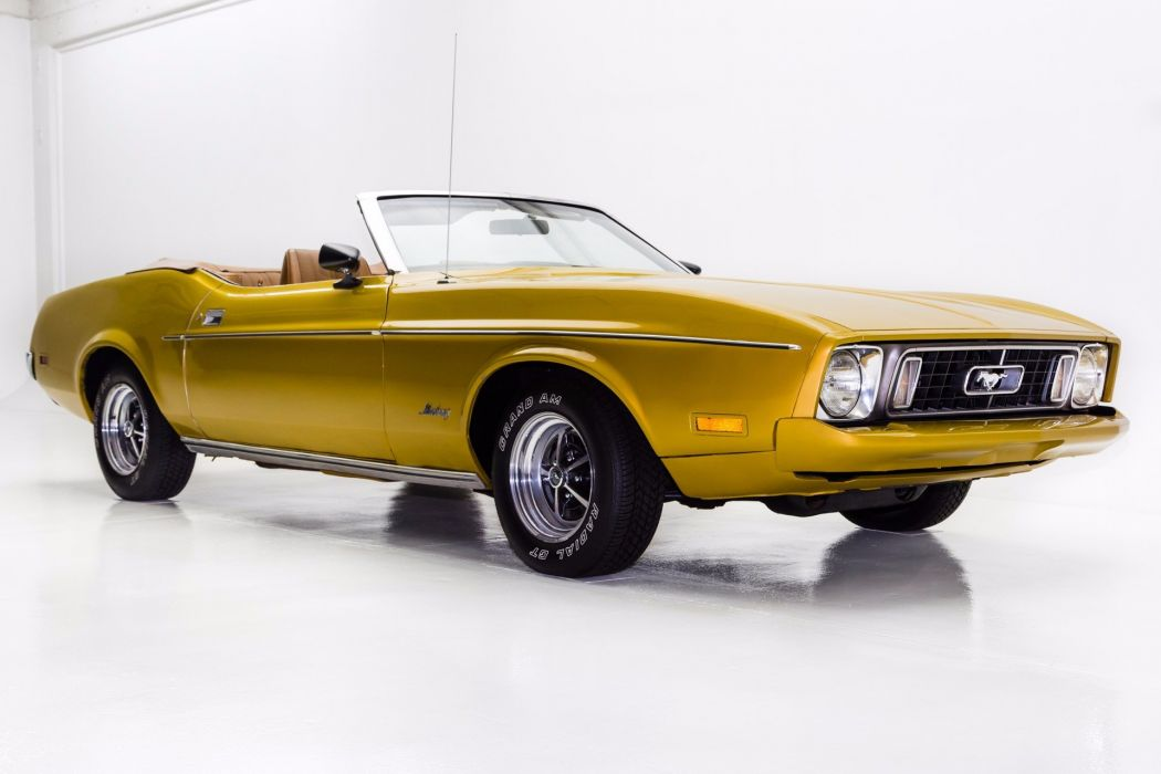 1973 ford mustang convertible 302 cars wallpaper