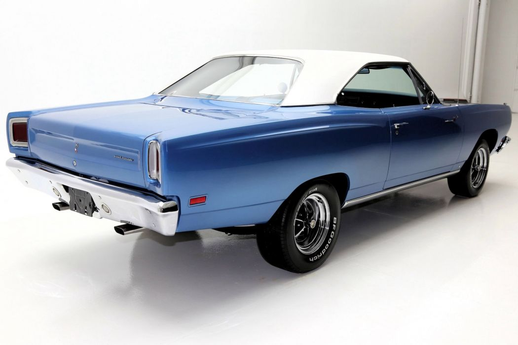 1969 plymouth road runner cars blue wallpaper