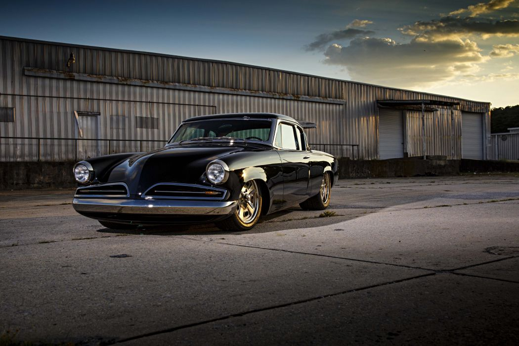 1953 Studebaker Commander coupe cars black wallpaper