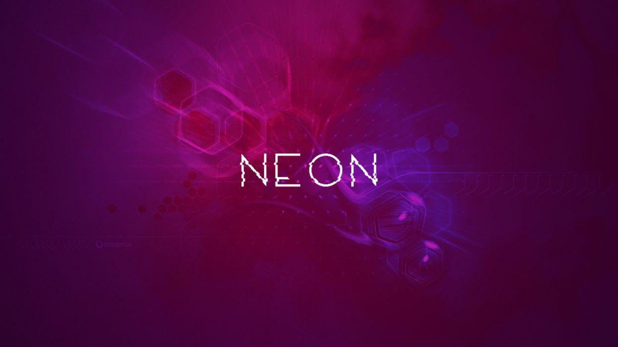cg digital art 3d psychedelic sci-fi neon eletronic wallpaper