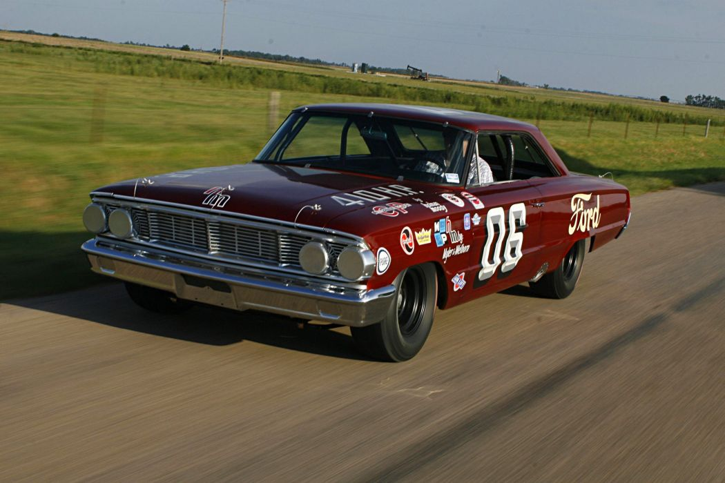 1964 NASCAR ford Galaxie cars racecars wallpaper